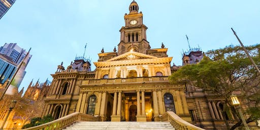 International Students Sydney Town Hall Tour - October2019