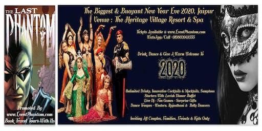 The Biggest & Buoyant New Year Eve 2020, The Heritage Village Resort,Jaipur