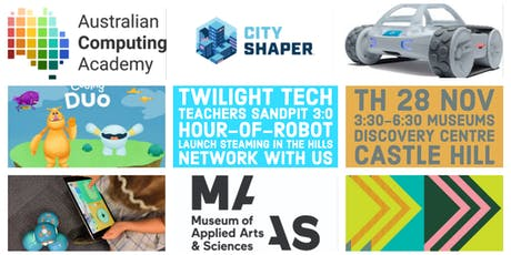 Twilight Tech Teachers Sandpit 3.0 Hour of Robot Launch tickets
