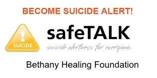 SafeTALK Suicide Alertess for Everyone, Community skills workshop.