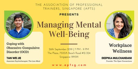 APTS Workshops: Managing Mental Well-Being tickets