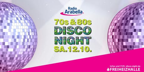 Radio Arabella Disco Night - SA. 12.10. Tickets