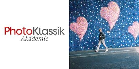 PhotoKlassik Akademie - Einstieg in die analoge Straßenfotografie Tickets
