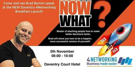 4N Networking with Brad Burton tickets
