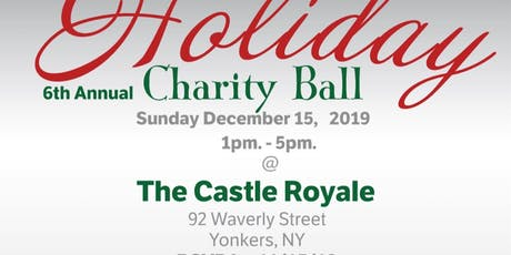 6th Annual Holiday Charily Ball 2019 tickets