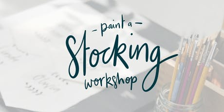 Stocking Painting Workshop  tickets