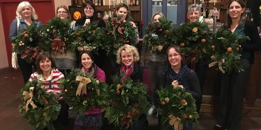 Christmas Wreath Making Claverham Village Hall