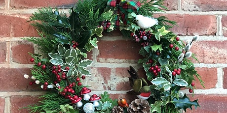 Christmas Wreath Making - 13 Dec  (sold out - extra date 11th Dec 1-3pm) tickets
