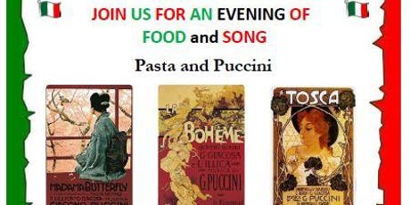 Pasta and Puccini - an evening of food and song tickets