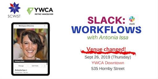 Slack: Workflows (workshop)