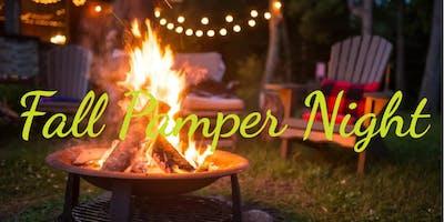 Fall Pamper Night