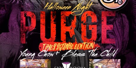Purge Rooftop Costume Party Halloween Night @ Skyroom tickets