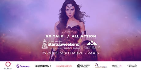 Global Startup Weekend Women Paris 2019 billets