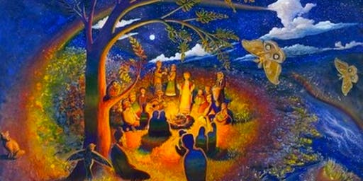 Full Moon Sacred Sounds Singing Circle & Gong Bath