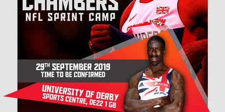 Dwain Chambers NFL Sprint Camp tickets