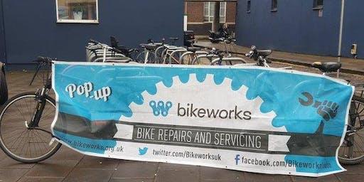 Dr Bike free maintenance session - Tower Building reception