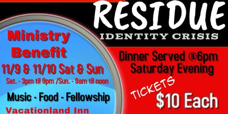 RESIDUE Identity Crisis tickets