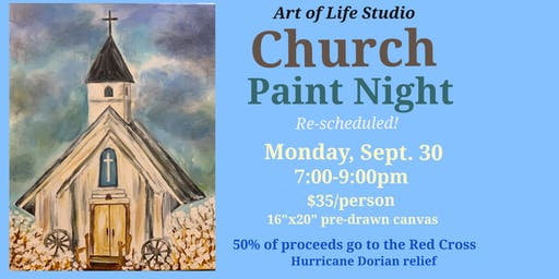 Paint Night: Church (re-scheduled)