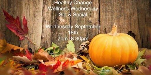 Wellness Wednesday  Sip & Social