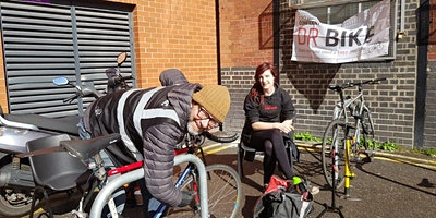 Dr Bike free maintenance session - Goulston Street reception