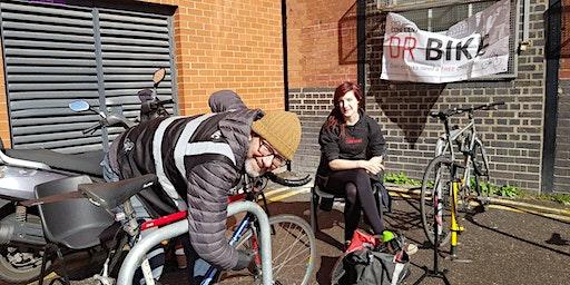 Dr Bike free maintenance session - Goulston Street reception