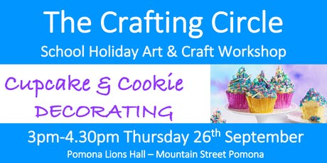 School Holiday Workshop - Cupcake & Cookie Decorating tickets