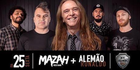Show Banda Mazah e Alemão Ronaldo ingressos
