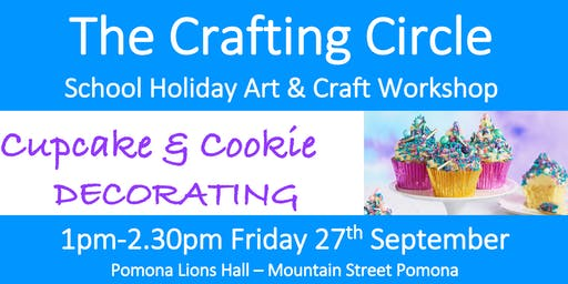 School Holiday Workshop - Cupcake & Cookie Decorating