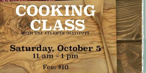 TURKISH COOKING CLASS OCTOBER 5