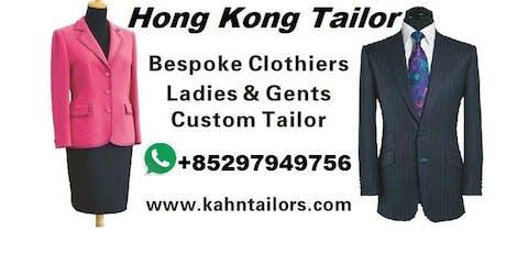 Bespoke Tailor Hong Kong Trunk Tour London tickets