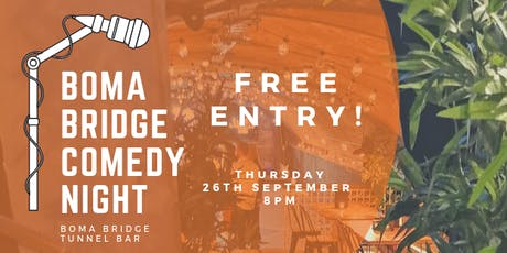 Boma Bridge Comedy Night tickets