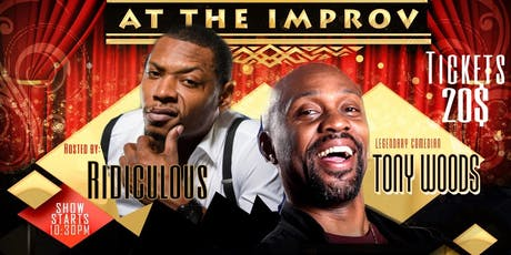Uproar At The Improv with Tony Woods of Def Comedy Jam tickets