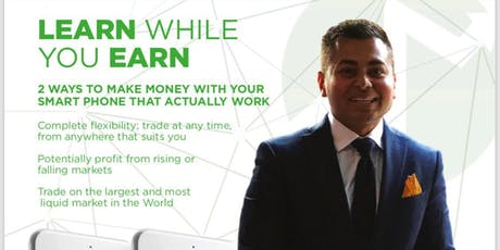 LEARN TO TRADE THE MARKETS tickets