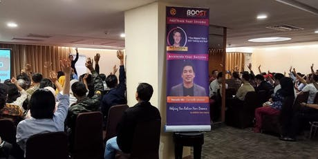 Seminar Gratis Internet Boost tickets