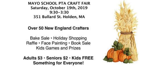 2019 Mayo PTA Craft Fair
