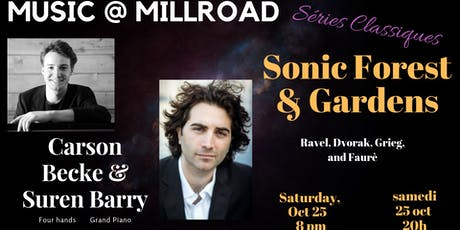 Sonic Forest and Garden: An evening of music for piano, four hands tickets
