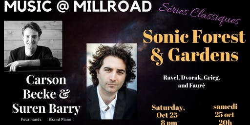 Sonic Forest and Garden: An evening of music for piano, four hands