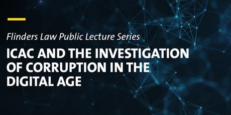 ICAC and the Investigation of Corruption in the Digital Age tickets