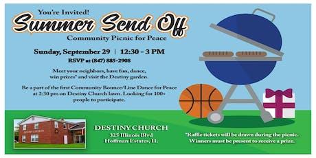 Summer Sendoff Community Picnic for Peace tickets