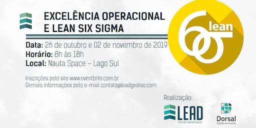 Excelência Operacional e Lean Six Sigma - Com certificação YellowBelt
