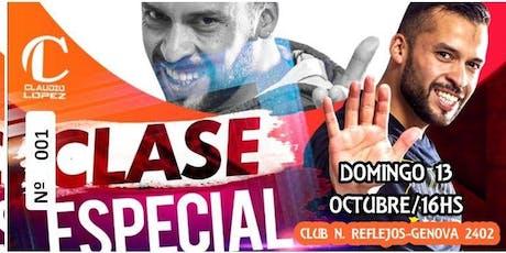 Clase Especial Con Claudio López entradas