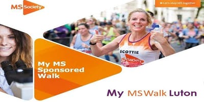 MY MS WALK LUTON 2020
