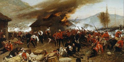 Rob Caskie on Rorke's Drift