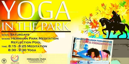 Yoga In the Park at Hermann Park
