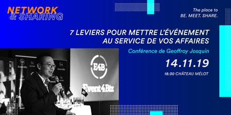 NETWORK & SHARING - Acte 3 billets