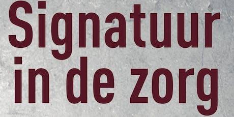 Signatuur in de zorg tickets