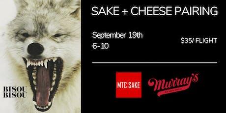Sake + Cheese Pairing tickets