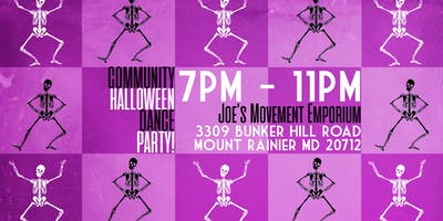 Community Halloween Dance Party!