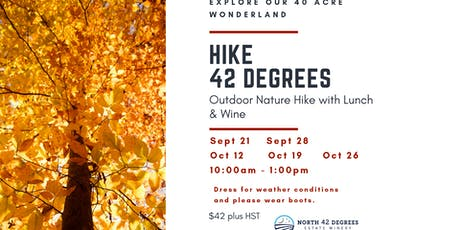 Hike 42- A fall nature discovery tickets