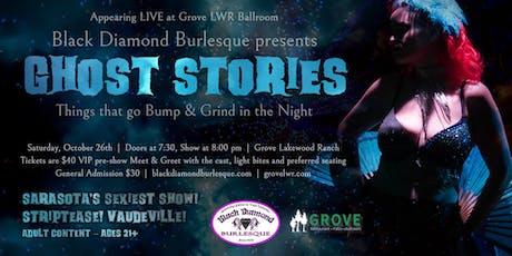 Black Diamond Burlesque's Halloween Show tickets